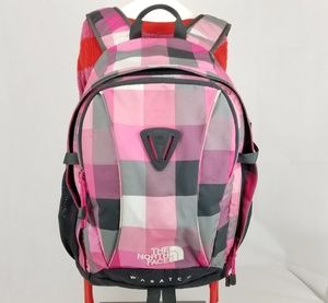 The North Face Wasatch Pink Gray White Black Pack